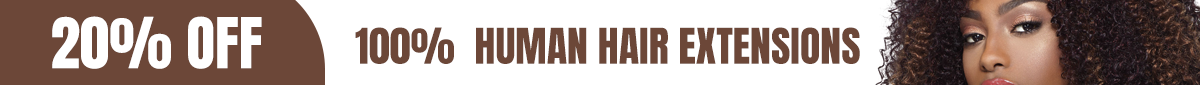 Get 20% OFF on Human Hair Extensions