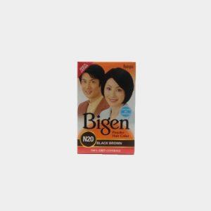 Bigen Powder Hair Color Black Brown N20