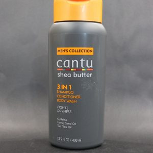 Cantu Shea Butter Men's collection 3-in-1 shampoo