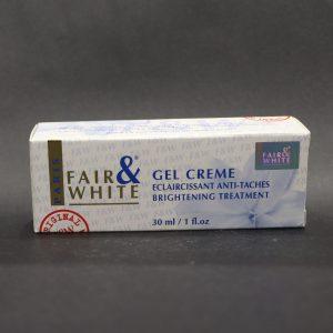 Fair and White Gel Creme Brightening Treatment