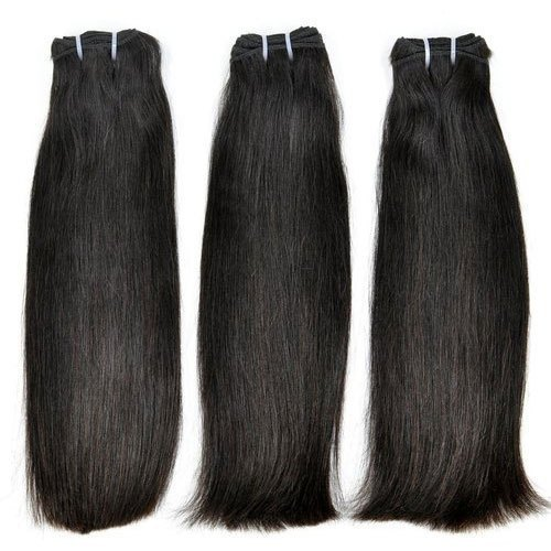 Indian human weft hair extensions
